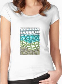 Tangled Stacks Women's Fitted Scoop T-Shirt