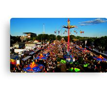 Top O' the Midway Canvas Print