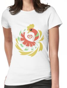 Heart Gold - Ho-Oh Womens Fitted T-Shirt