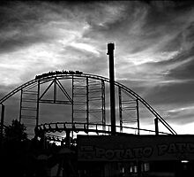 Kennywood Sunset by Ernest Strawser
