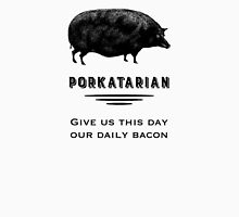 Porkatarian - Bacon Lover's Vintage Pig Unisex T-Shirt