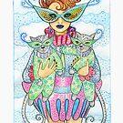 Feline Masquerade by Laura J. Holman