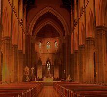 St Patrick's Cathedral, East Melbourne - HDR by Jan Clarke