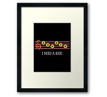 Eponas song Framed Print
