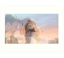 "Castle ""Always"" Edit Art Print"