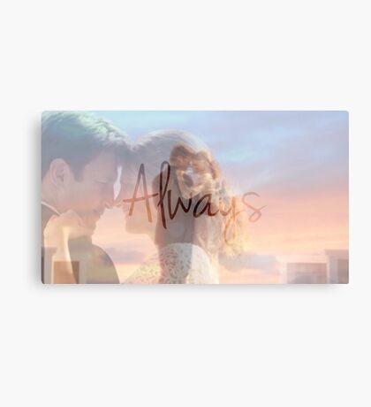 "Castle ""Always"" Edit Canvas Print"