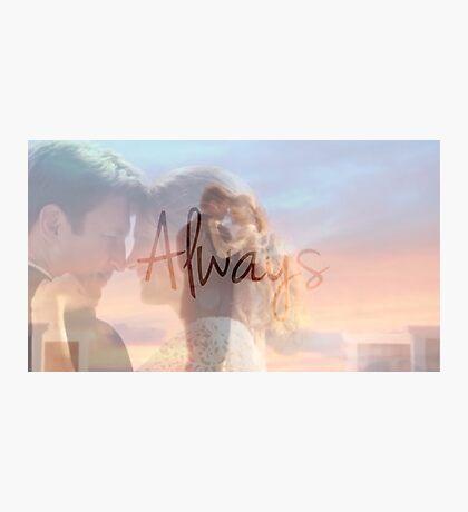 "Castle ""Always"" Edit Photographic Print"