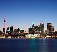 Toronto Skyline by jhames808