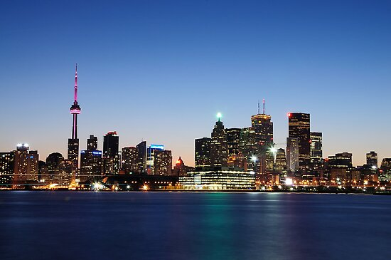 Toronto Skyline by jhames808