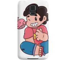 Steven and His Whale Samsung Galaxy Case/Skin