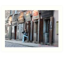Kazimierz  the best preserved Jewish district in Europe. Brown Sugar Story. Views (186) favorited by (2) Shalom ! thank you ! Toda raba zeh hachever sheli ! Art Print