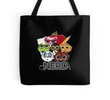 Nerd 3 - Black Tote Bag