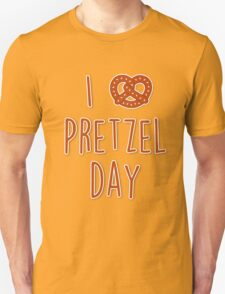 I love Pretzel Day T-Shirt