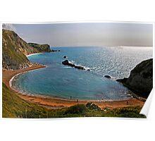 Saint Oswald's Bay, Dorset, UK Poster