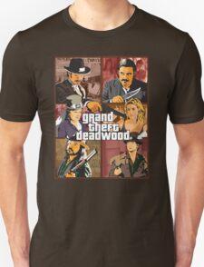 Grand Theft Deadwood | Deadwood + Grand Theft Auto T-Shirt