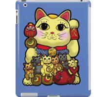 Lucky Cat and Kittens - Maneki Neko iPad Case/Skin
