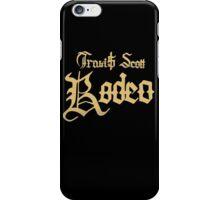 Travi$ Scott - Rodeo (gold) iPhone Case/Skin