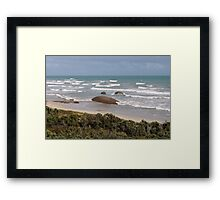 The granites Framed Print