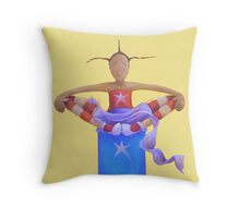 Ommmmm Throw Pillow