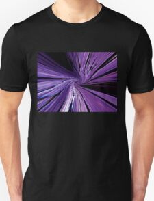 #134           Purple Warp Unisex T-Shirt