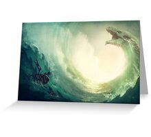 Sea is a Dragon Greeting Card