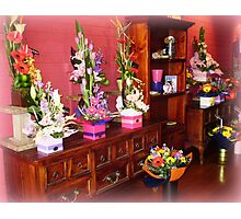 Florist Shop -  Love it in here. Photographic Print