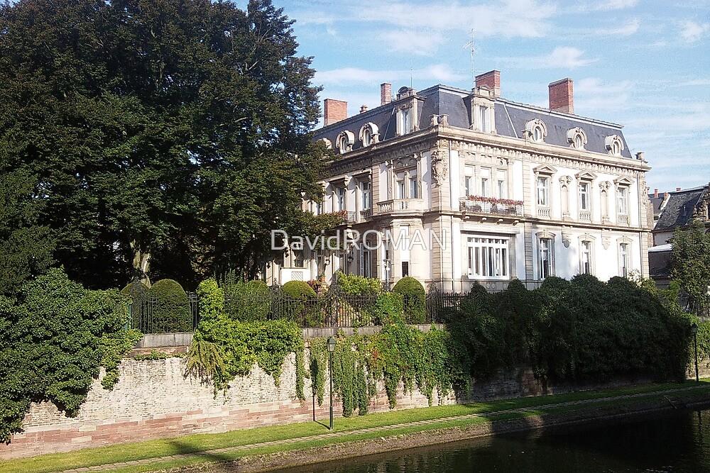 White House Strasbourg France by DavidROMAN