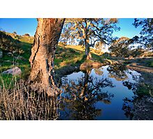 Mannum Falls Reflections Photographic Print