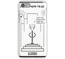 Bernard - Happy New Year! iPhone Case/Skin