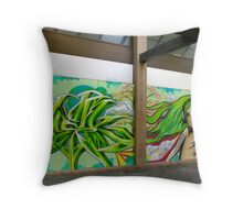Exciting walls of Adelaide Throw Pillow