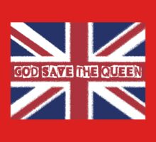 God save the Queen One Piece - Long Sleeve