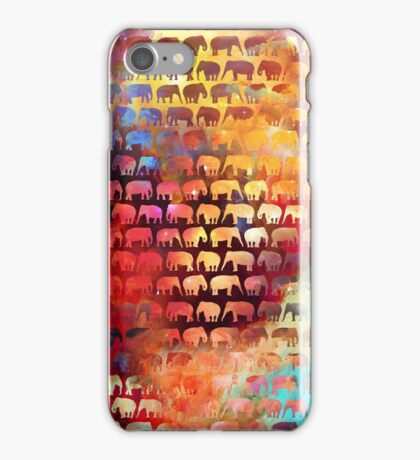 African Color Animals iPhone Case/Skin