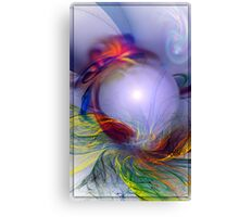 Protect The Pearl (Fractal Manipulation)  Canvas Print