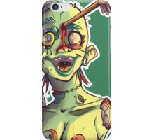 Headshot Mcboobs - Zombie Punk! Collection iPhone Case/Skin