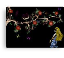 Alice In Wonderland (Fractal Manipulation)  Canvas Print