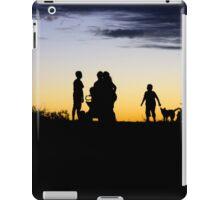 Outback Sunset - Kids on motorbikes  iPad Case/Skin