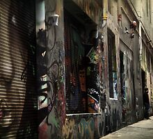 Melbourne's Laneways & Alleys 11 by Trish Woodford