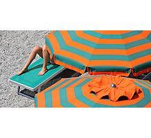 Summer Holiday - Monterosso, Cinque Terre Photographic Print