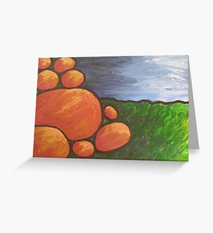 Australian Marbles Greeting Card