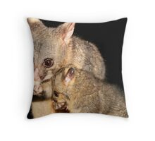 Sticky fingers Throw Pillow