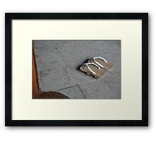 Sandals Framed Print