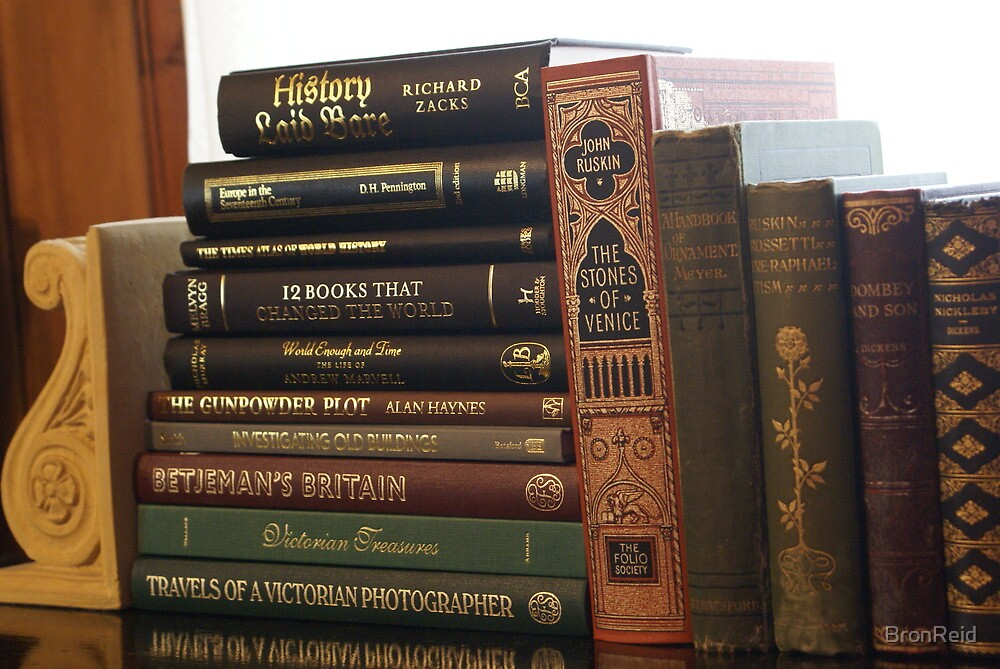 love old books and history books by BronReid