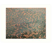 Burnt Spinifex  Art Print