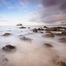 Bass Rock Foam by bluefinart