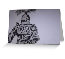 knight no.2 Greeting Card