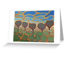 Desert Winter Greeting Card