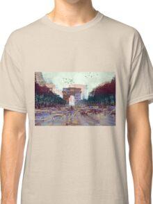 Parisian Mosaic - Piece 25 - Les Champs-Élysées Classic T-Shirt