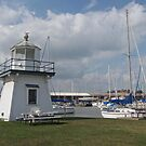 Port Clinton Lighthouse by Monnie Ryan