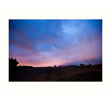 Peamount Early Morning Art Print
