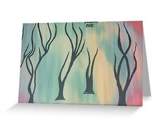 Colours of growth Greeting Card